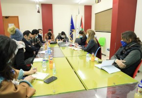 زيارة وفد من الاتحاد الاوروبي لجمعية انقاذ المستقبل الشبابي