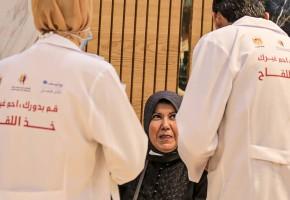 جمعية إنقاذ المستقبل الشبابي تنفذ جولة ميدانية للتوعية بأهمية التطعيم