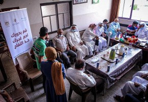 SYFs meets the Supreme Commission for tribal affairs